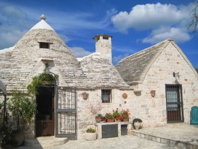 Photo for Trullo with  Pool, situated in 2 Acres of Private Land close to Alberobello