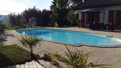 Photo for Family House with Pool near Annecy