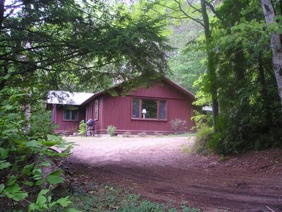 Loon Lodge - a house in the woods.