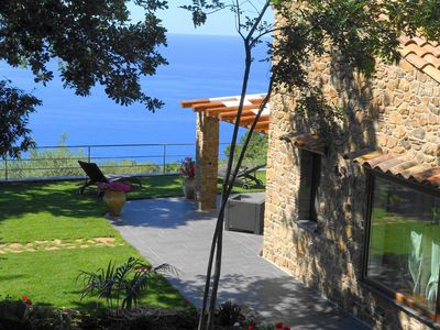 Photo for detached villa is located just ten minutes from the sea