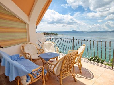 Photo for Two bedroom apartment near beach Selce, Crikvenica (A-2364-a)