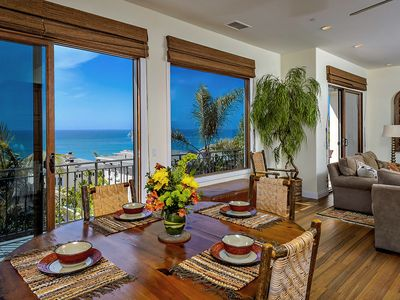 Photo for STUNNING OCEAN VIEWS, GATED LUXURY HOME AND SHORT WALK TO BEACH!