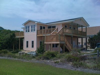 Photo for Beautifully Remodeled Beach House - Drink in the Ocean Views from Inside or Out!