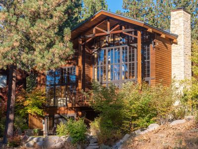 Photo for LAKE TAHOE  - LUXURY SKI CHALET RIGHT AT NORTHSTAR - LAKE TAHOE