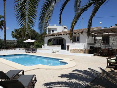 Photo for Charming Spanish villa in Moraira-Teulada with private pool and large garden