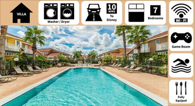Photo for Deluxe Vacation Home for Families-Great Resort & Amenities