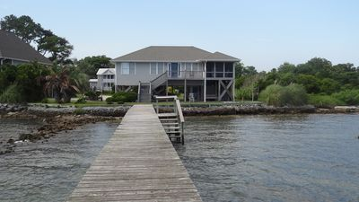Photo for Waterfront! View of Cape Lookout! Completely remodeled!