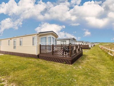 Photo for Full seaview stunning caravan for hire at Broadland sands holiday park ref 20286