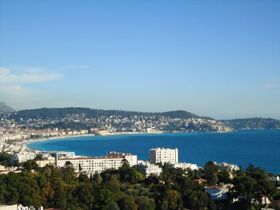 Photo for Le Trésor de Nice:  stunning view, fully equipped, free WiFi, phone, AC