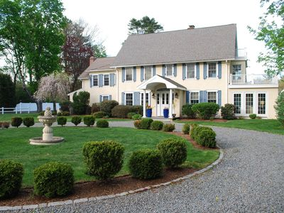 Photo for Classic New England Private Estate ~ Close To Boston ~ 5 Beds / 5 Baths