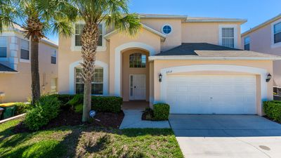 Photo for Upscale 7 bedroom family pool home in Emerald Island, with games room, sleeps 16