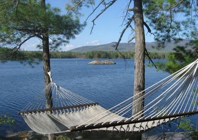 Relax on the hammock!