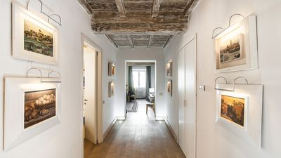 Photo for In Rome's Historic Center, Gracious Living with Historic Setting, Art and Modern Comfort, 3 bedrooms