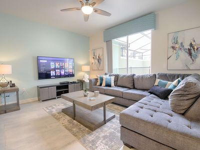 Photo for Disney On Budget - Storey Lake Resort - Welcome To Cozy 4 Beds 3 Baths Townhome - 5 Miles To Disney