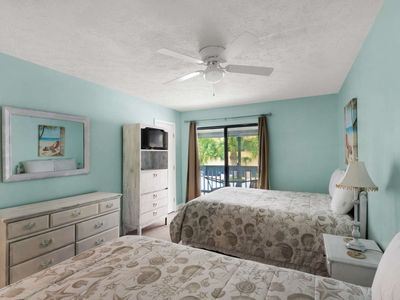Photo for 2 Bedroom Townhome Seconds From the Beach with Porch and Free WiFi