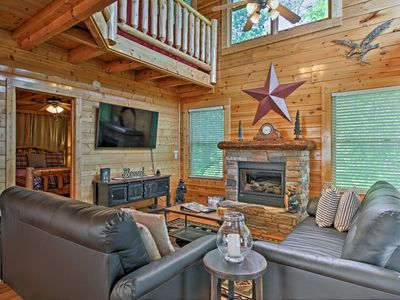 Photo for Sevierville Cabin w/Spa & Views Near Pigeon Forge!