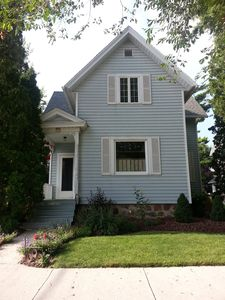Our charming two-story family home located in downtown Elkhart Lake