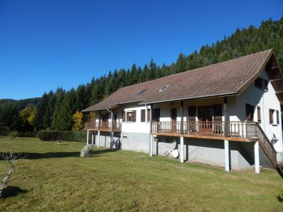Photo for semi-detached house in the southern Vosges quiet for 22 people