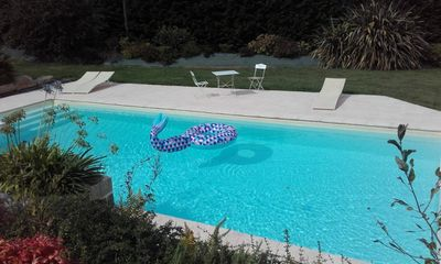 Photo for Gite 3 ears sea side GUILER-SUR-GOYEN, for 4 people, with swimming pool on site