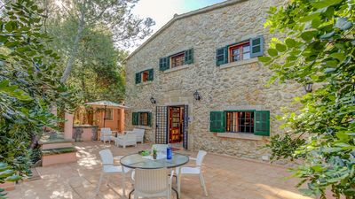 Photo for Casa Amanda - A Charming Traditional Stone Villa with Private Pool, Mountain Views in the centre of Pollensa ! - Free WiFi