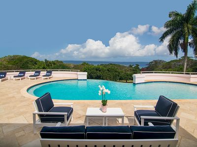 Photo for Round Hill Resort Membership, Beach club, Private Driver, Chef, Butler, Pool, AC, Tennis, Free Wifi