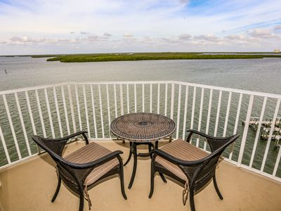 Photo for Hot Tub, Heated Pool & Incredible 7th Floor Views of the Gulf!