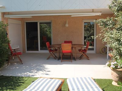 Photo for In ST AYGULF VERY NICE 3 ROOMS 47 M ² + 60 M ² OF TERRACE AND GARDEN SOUTH EXPO in rez of garden
