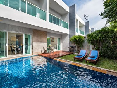 Photo for Relaxing House with Pool in Nai Harn