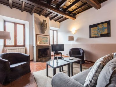 Photo for Apartment Piazza Navona Large Panoramic Apartment in Roma: Piazza Navona - Campo dei Fiori - 12 persons, 4 bedrooms