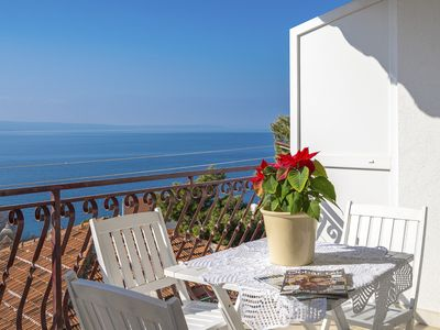 Photo for Spacious apt with magnificent sea view&big terrace