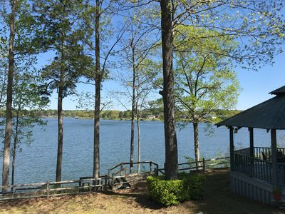 Photo for LAKEFRONT house on Lake Tuscaloosa- recently renovated!
