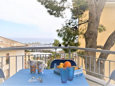 Photo for Sea view apartment with terrace