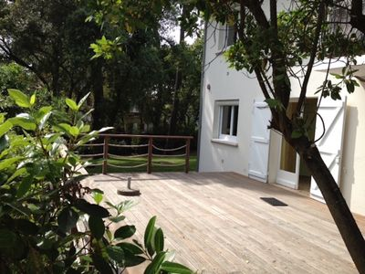 Photo for Villa 8 people + park - 200 m from the beach