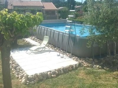 Photo for Nice house with swimming-pool