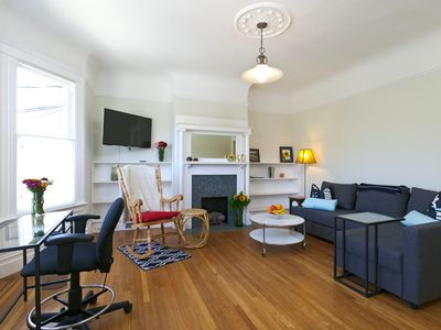 Photo for Charming Edwardian Castro District Apartment