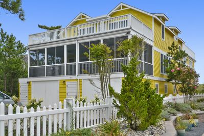 Your oceanfront vacation rental on Fenwick Island!  Walk to restaurants & shops.