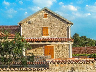 Spacious Stone House In Charming Village, set among rolling green hills & next to beaches