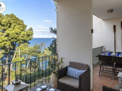 Photo for Beautiful apartment in a quiet area with a nice view of the Mediterranea sea