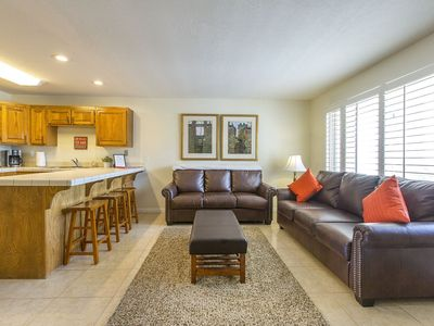 Photo for 314   ELEVATOR ACCESS, PRIVATE BALCONY WITH BEAUTIFUL MOUNTAIN & CITY VIEWS, AND MORE!