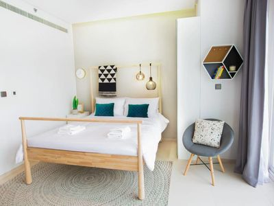 Photo for ☆ Newly Designed Apartment   Walk to the Beach