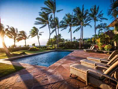 Photo for Luxurious and Elegant Maui Beachfront Home on Kaanapali Beach