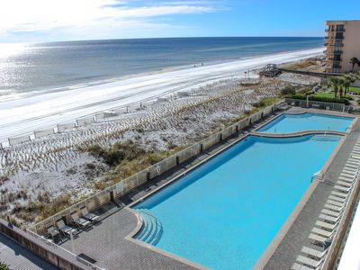 Photo for SPECTACULAR VIEWS FROM NEWLY RENOVATED 5TH FLOOR OCEAN FRONT CONDO