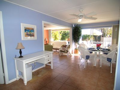 Photo for 5 STAR, Pet Friendly, Sunny,Private Cottage with Old Florida Charn Mins to Beach