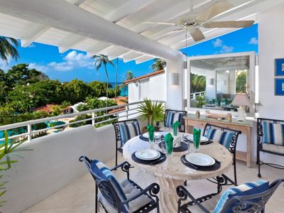 Photo for Luxury Penthouse at Glitter Bay in Barbados - Steps from the beach
