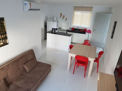 Photo for Flat at Mandakaru Residence - Studio 01 qto up to 6 - to the beach and to the boardwalk