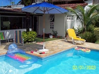 Photo for Great House in B. Una - 2 suites + 1 Bedrooms. - Pool - 3 blocks from the beach.