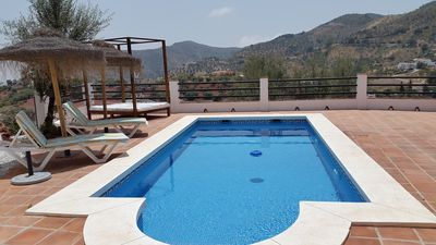 Photo for BARGAIN JULY!!!!Unique private villa,  A/C/ HEATED POOL, WIFI.VIEWS!!