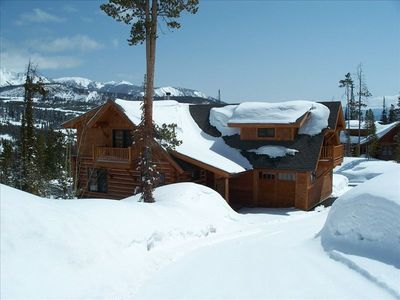 Photo for Luxury 5 Bdr/4 Bath Ski in/Ski Out Big Sky Cabin with Hot Tub