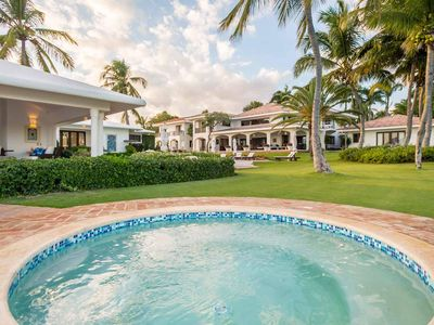 Photo for Villa with Cozy and Rustic Decor, Breathtaking Views of the Caribbean Sea, Swimming Pool