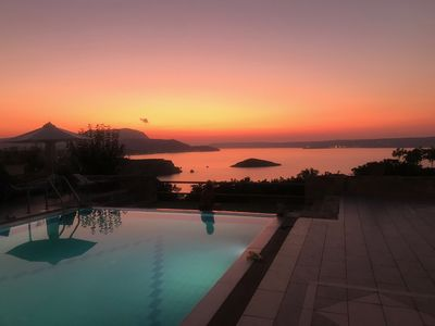 Photo for BlissHouse Crete Greece - Sit Back and Relax-  Private  panoramic sea view Villa